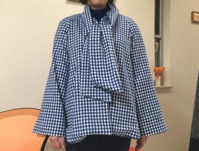 【生徒さんの作品】ボウタイジャケット