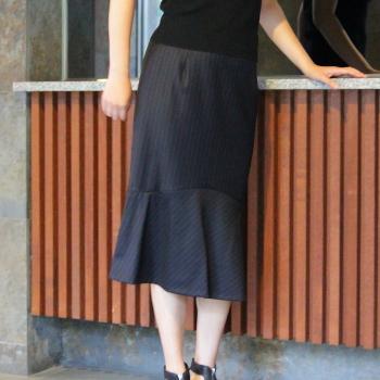 トランペットスカート型紙