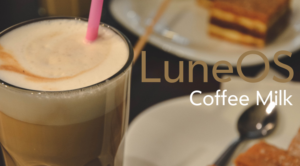 LuneOS Coffee Milk release