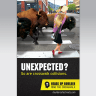 Poster for Heads Up Boulder Public Safety Campaign