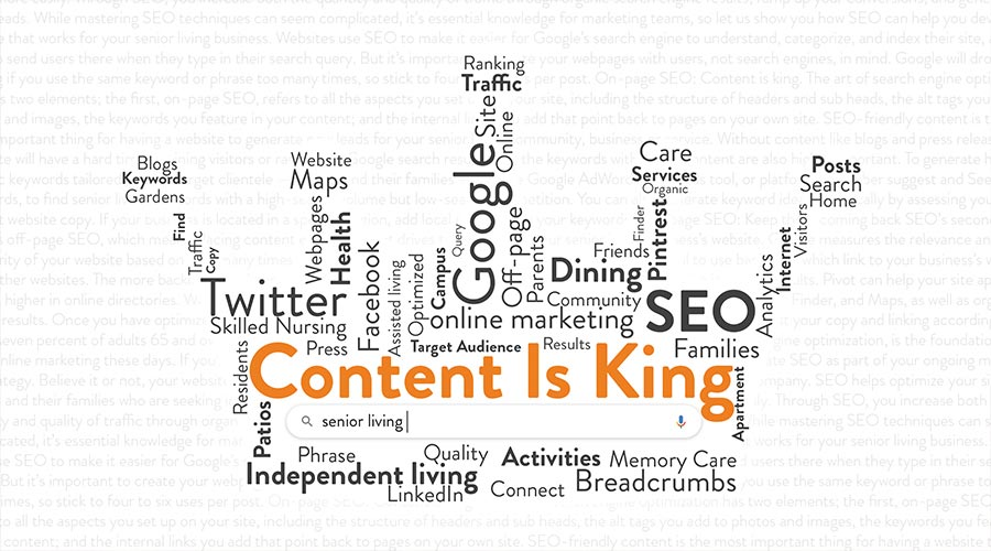 What is SEO and What Does it Mean to Senior Living Operators?