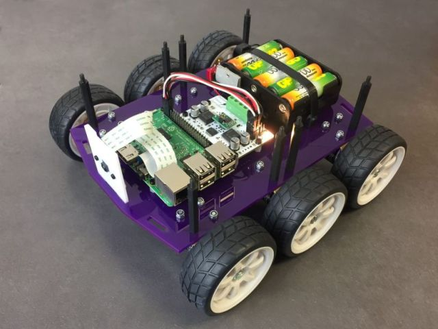Getting started with robotics – Pi Wars