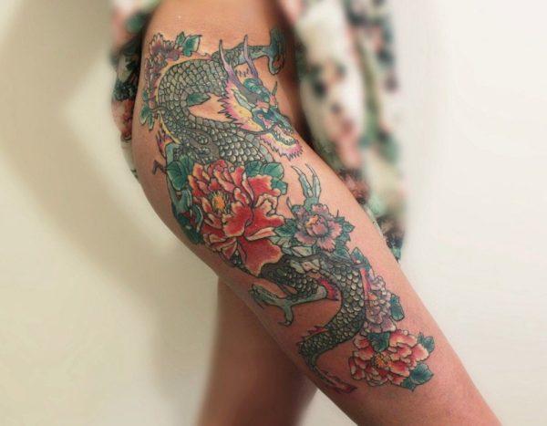Татуировки для девушек на ноге ТОП 100 идей со значением