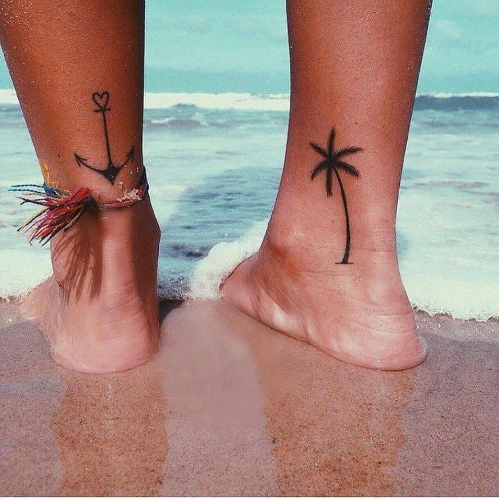 татуировки для девушек на ноге топ 100 идей со значением и фото