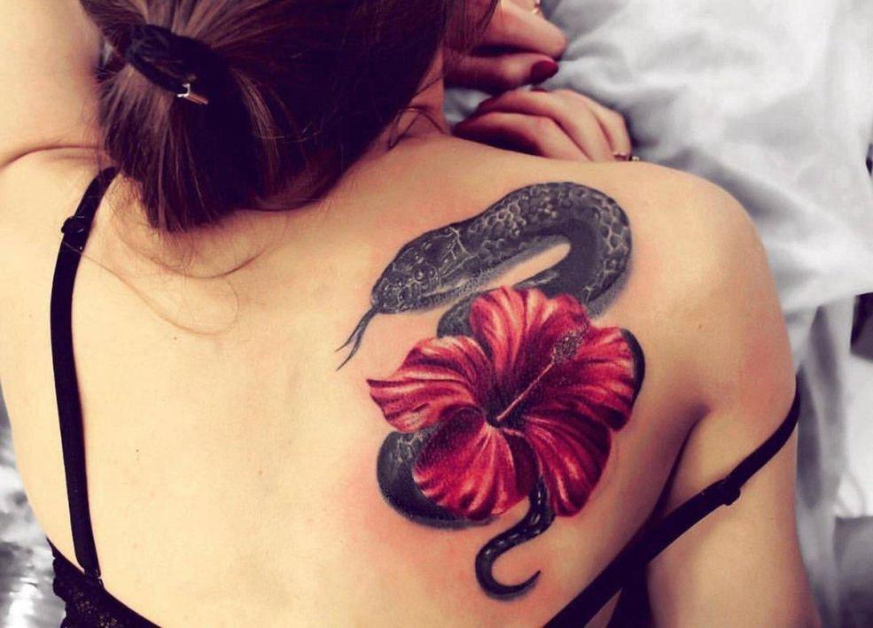 100 фото идей тату змея для девушек и мужчин эскизы значение