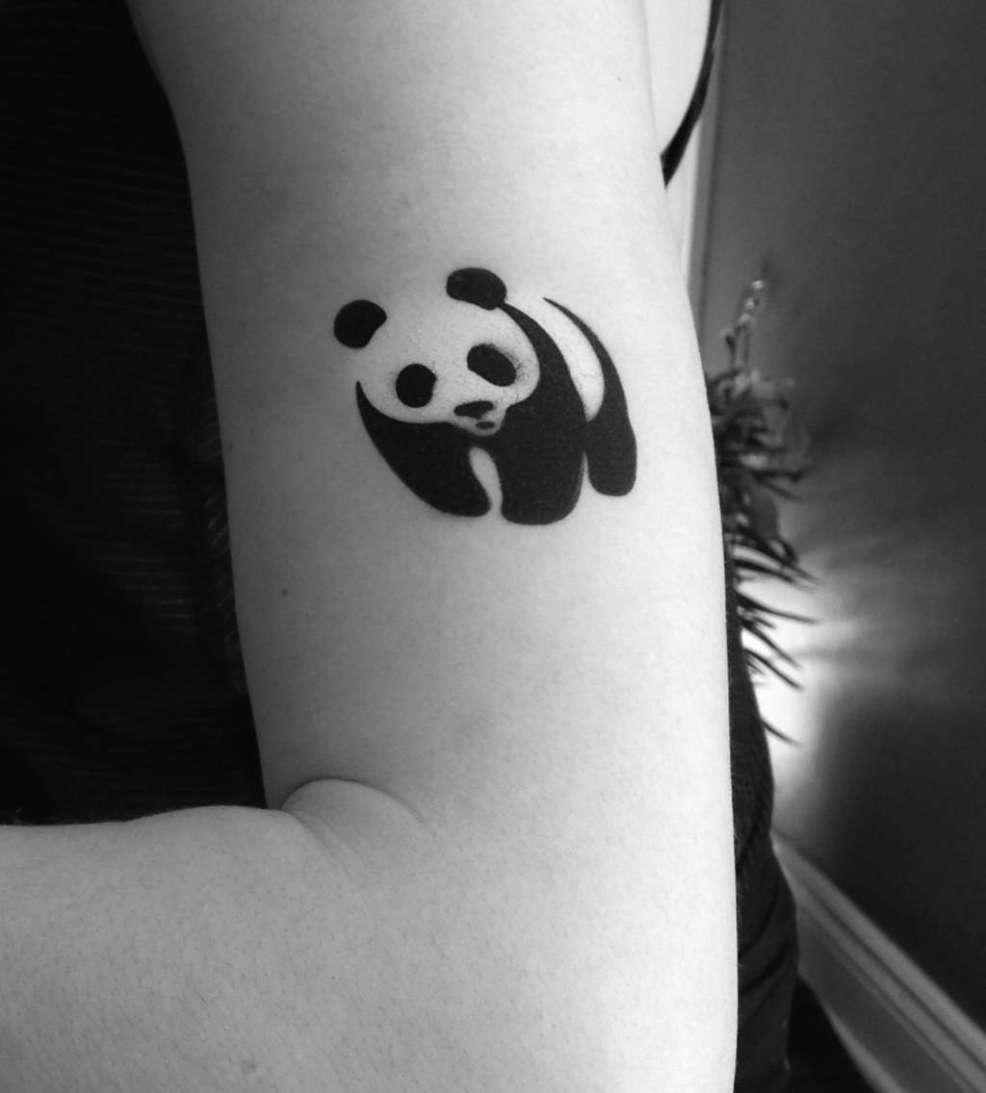 тату панда 100 лучших эскизов для девушек и мужчин значение фото