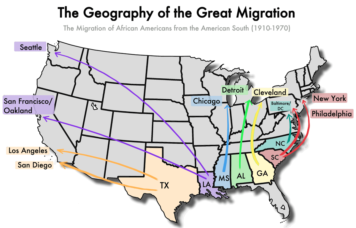 The Great Migration The African American Exodus From The