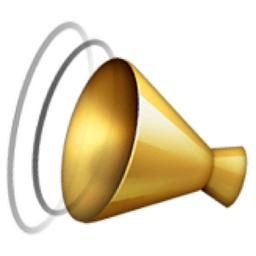 Image result for bullhorn emoji
