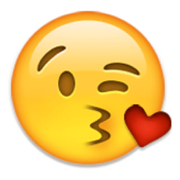 Image result for kiss emoji