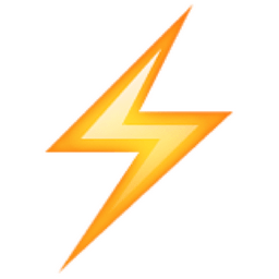 Image Result For Lightning Bolt Unicode