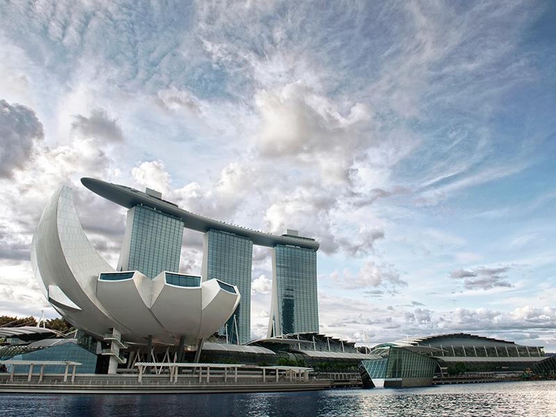 Marina Bay Sands Singapore - Exterior