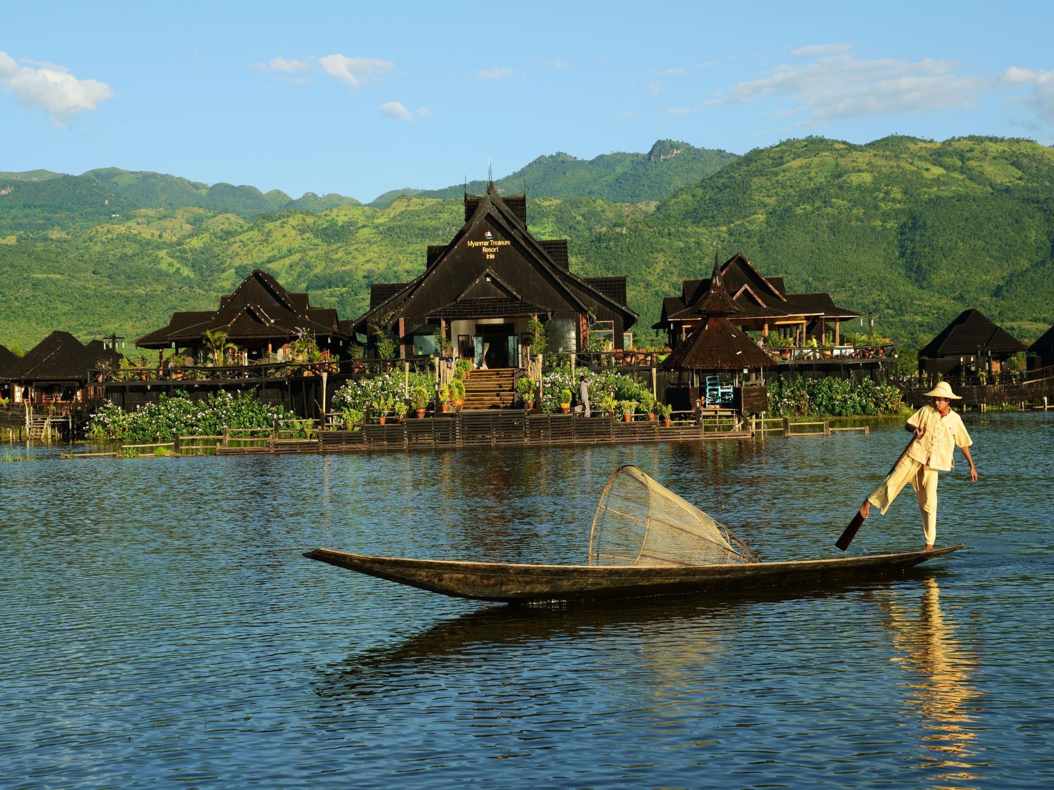 【緬甸】緬甸珍寶度假村 (Myanmar Treasure Resort)   Agoda訂房優惠
