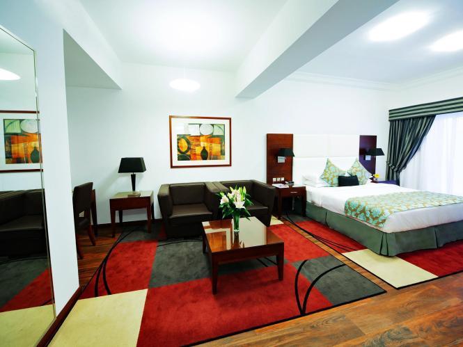 Golden Sands Hotel In Sharjah Room