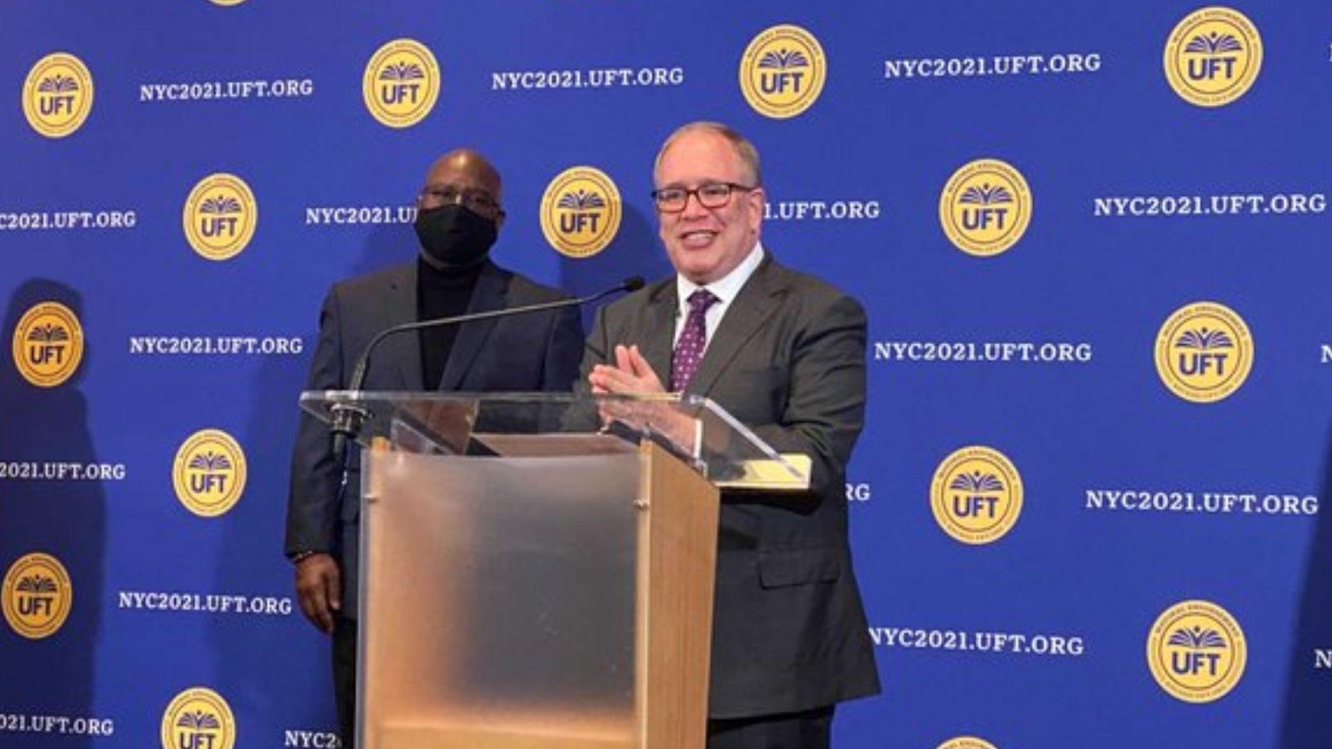 New York's United Federation of Teachers, the nation's largest teachers union, has endorsed Scott Stringer for the mayor of New York City.