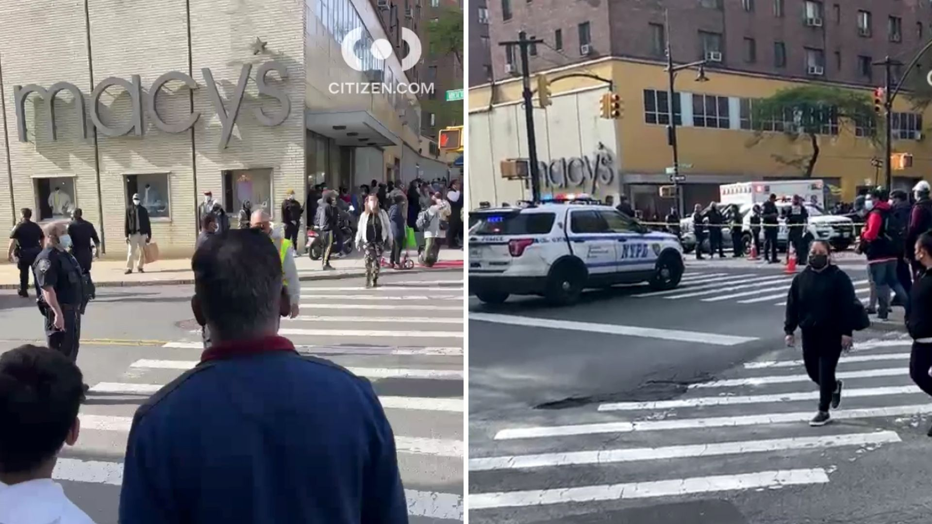 Bronx public safety officer shoots man with knife