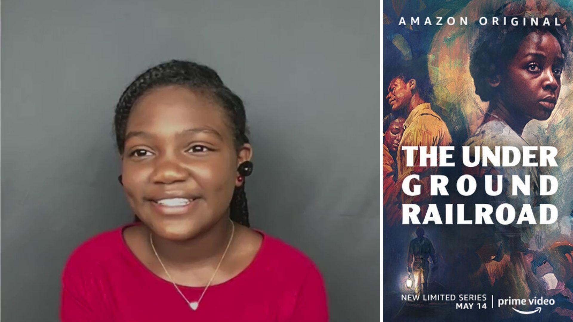 Underground Railroad star Kylee D Allen