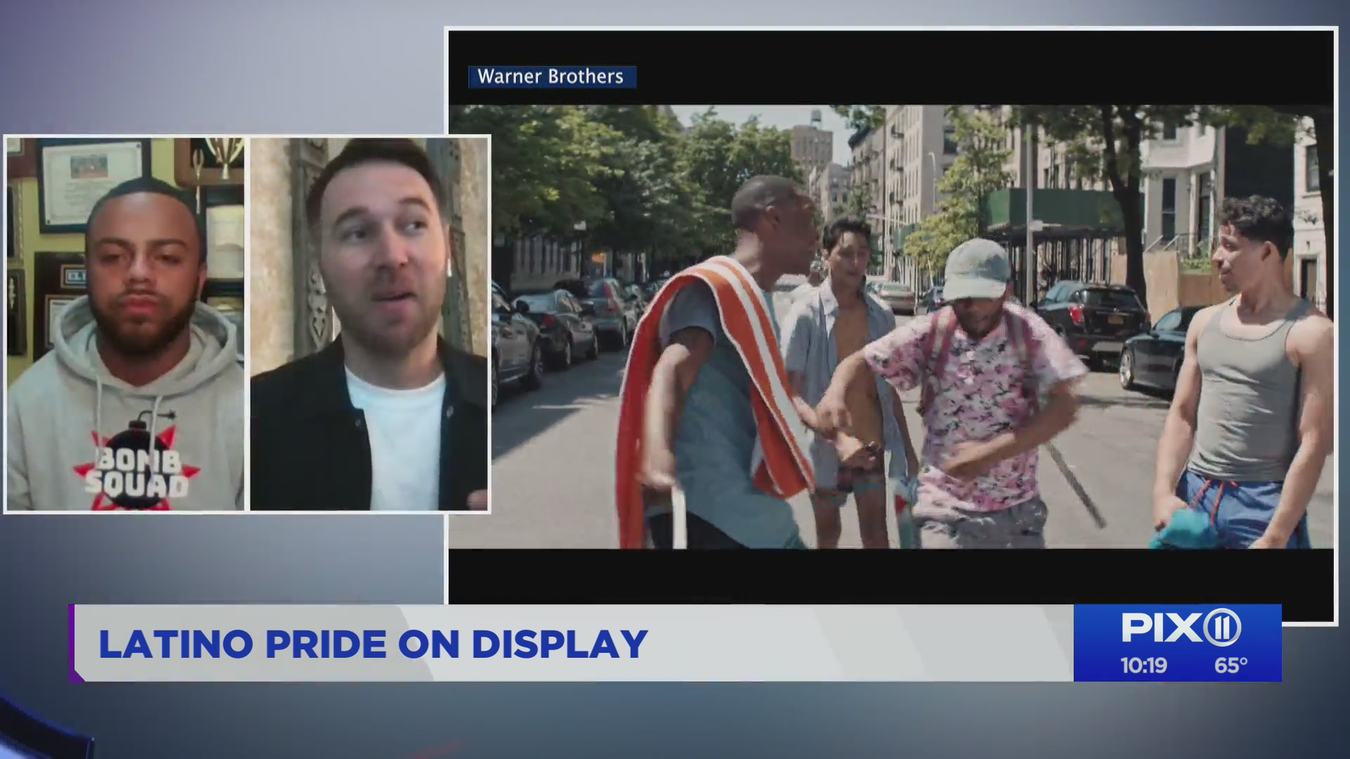 """Actor and dancer Noah Catala and choreographer Christopher Scott talk about """"In The Heights"""""""