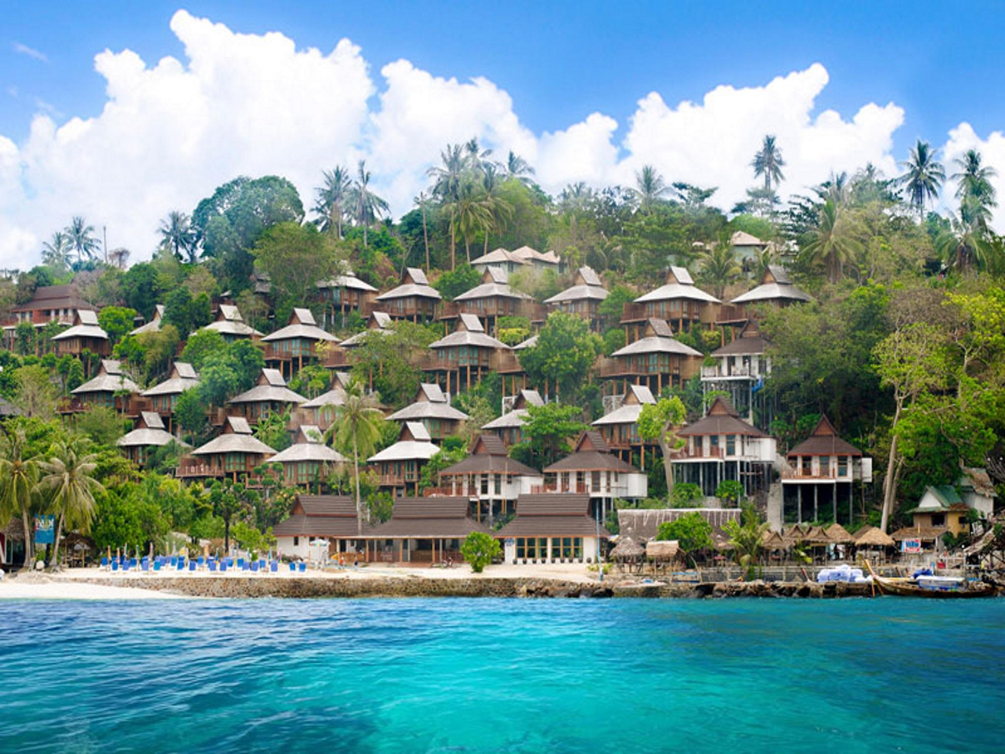 Image result for phi phi beach resort