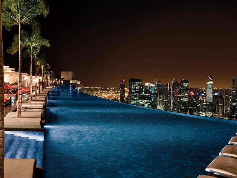 Marina Bay Sands Singapore - 57th Floor Pool