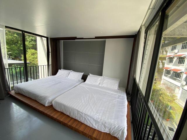 Stylish Loft for 4 – New Tanah Rata Courtyard Home