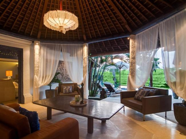 Serene Rice Field Terrace Canggu 3 Bedrooms Villa