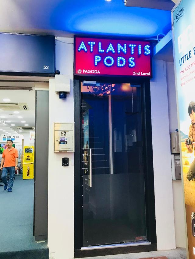 Atlantis Pods @ Chinatown