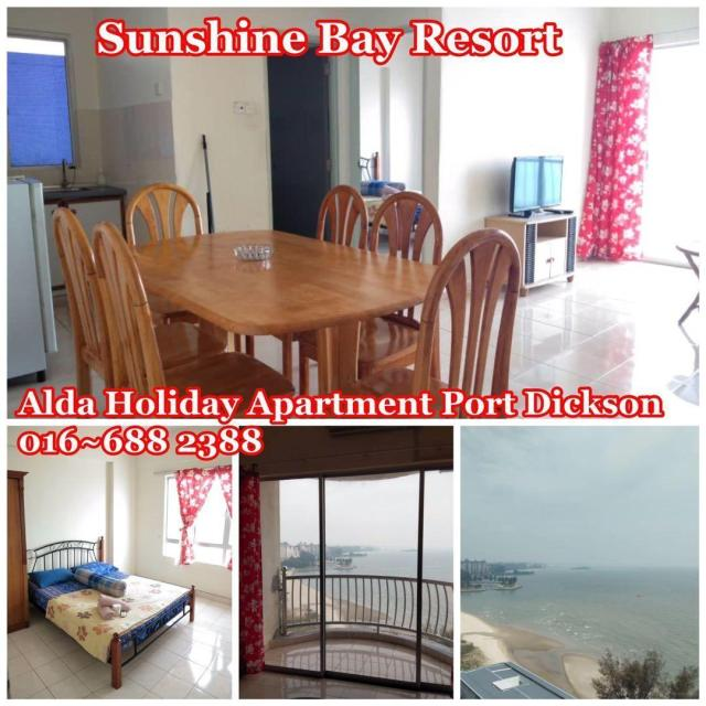 sunshine bay resort port dickson (1bedroom)