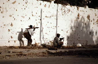 Fighting in the Somali capital, Mogadishu. | Pix4notes
