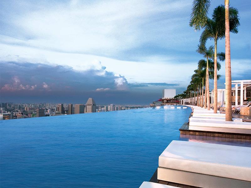 Marina Bay Sands Singapore - Swimming Pool