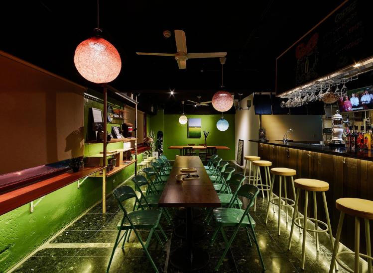 TOP HOSTELS in Taipei: The Bar at Taipei Taipei Hostel