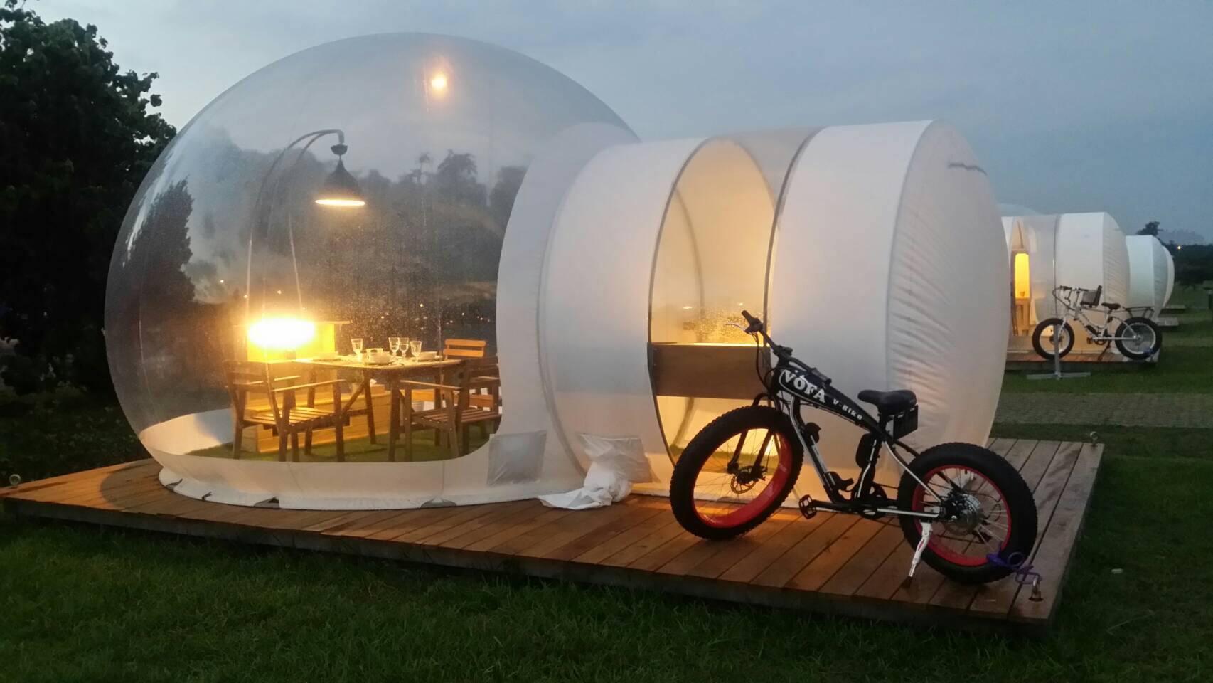 臺北市泡泡窩- 八里文化公園露營區 (Bubble WOW Bali) - Agoda 提供行程前一刻網上即時優惠價格訂房服務