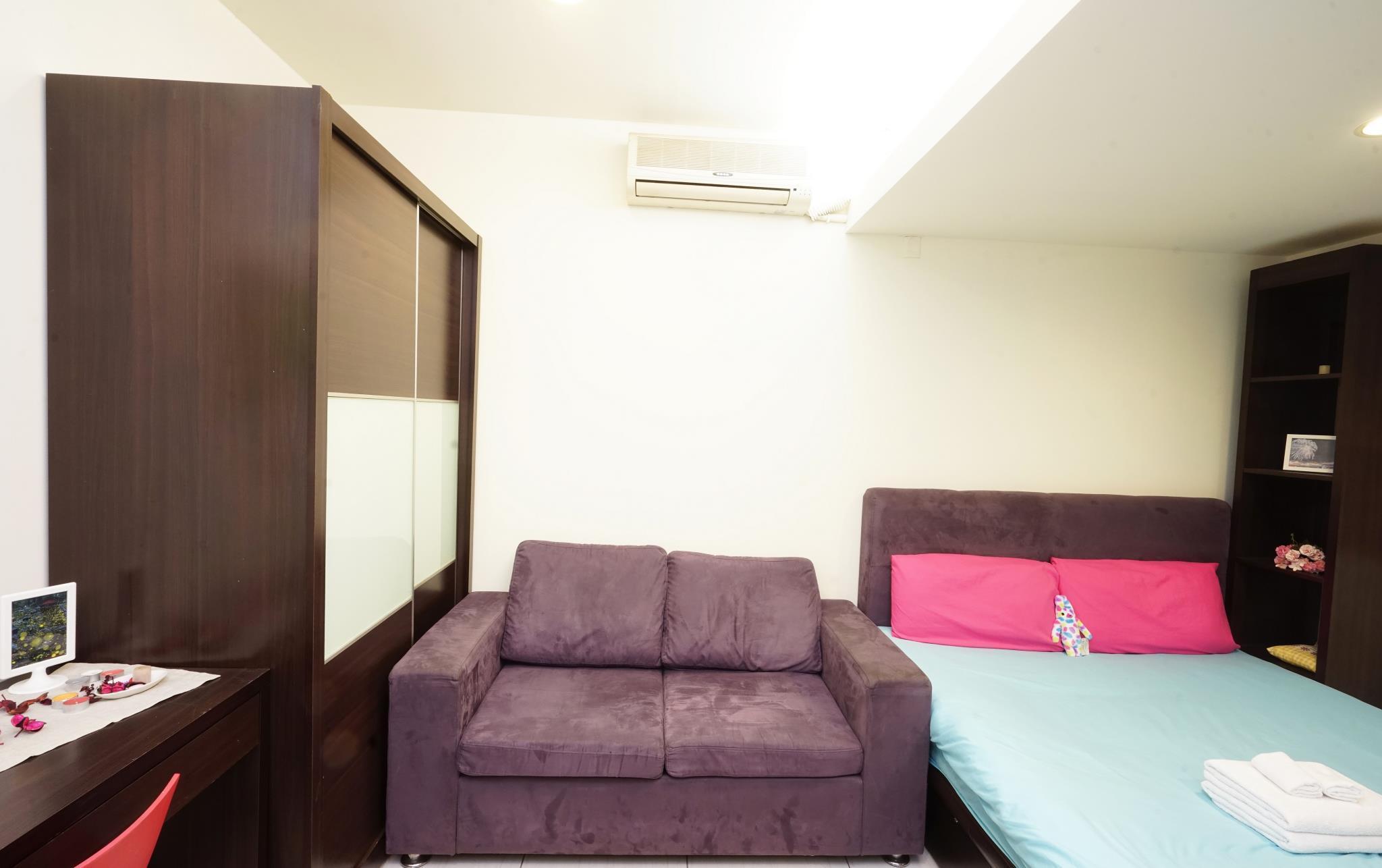 超值推! 最新住宿訂房攻略台中市彩虹雙人房