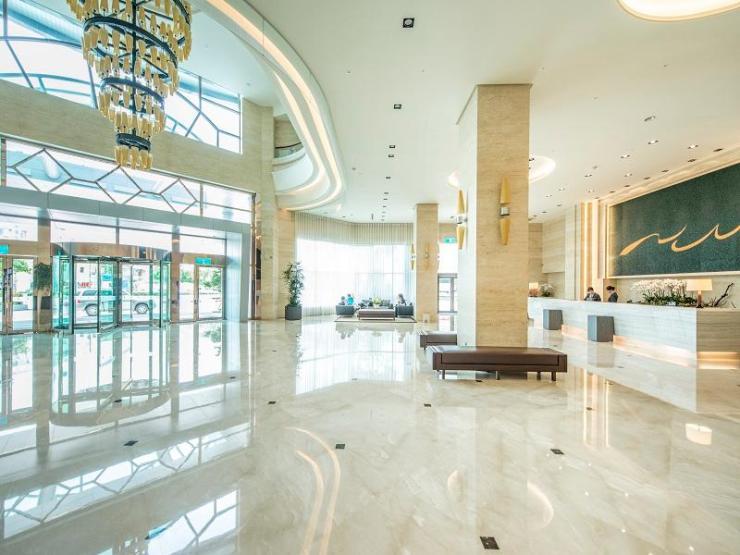 타이중 하버 호텔 로비