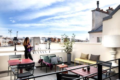 Marais Hôme - roof top