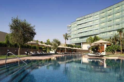 Pool at Le Meridien Cairo Airport
