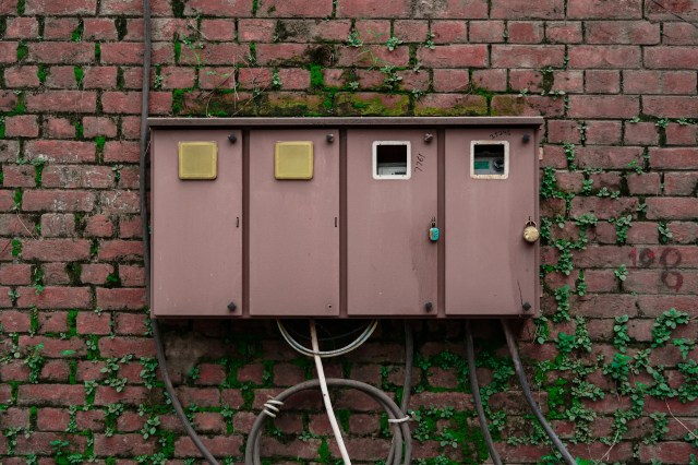 Electricity Supply Boxes