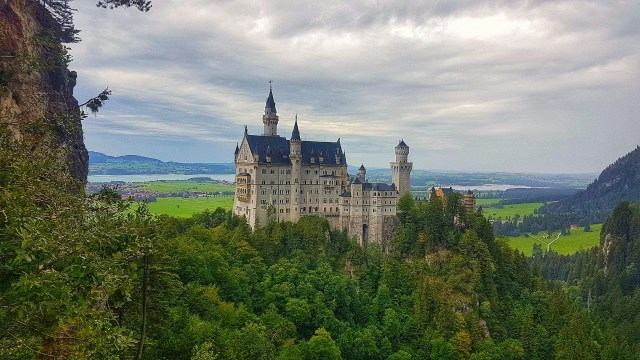 Historical Castle like out of a Fairytale