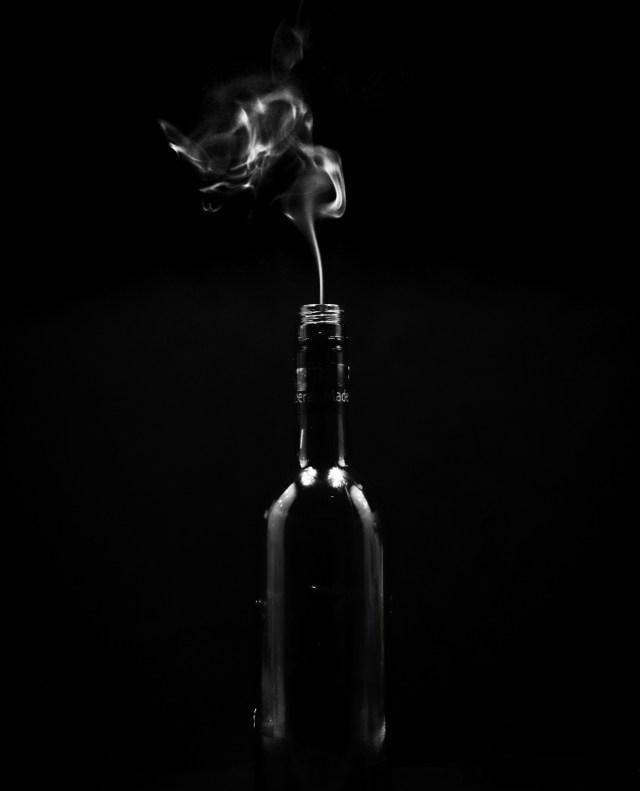 smoke photography and editing