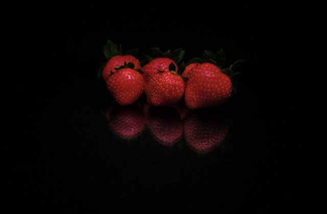 fresh and healthy strawberries