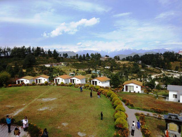 Tourist resort in India