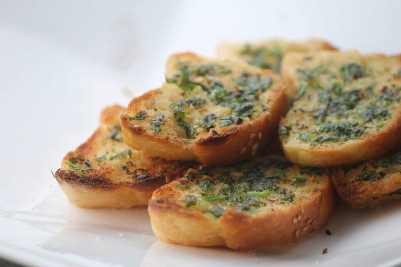 Garlic bread edibles
