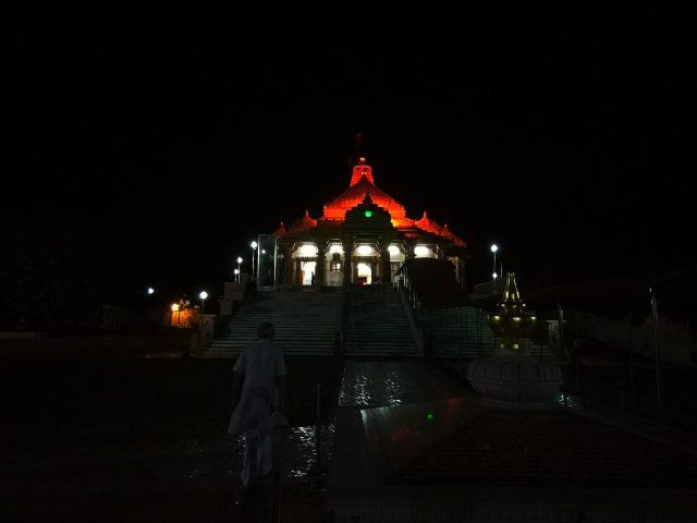 Jain Temple, Bhadravati Night Scenery