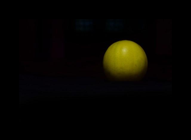 Lemon in the darkness