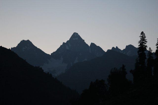 Mount Kolahoi in Kashmir
