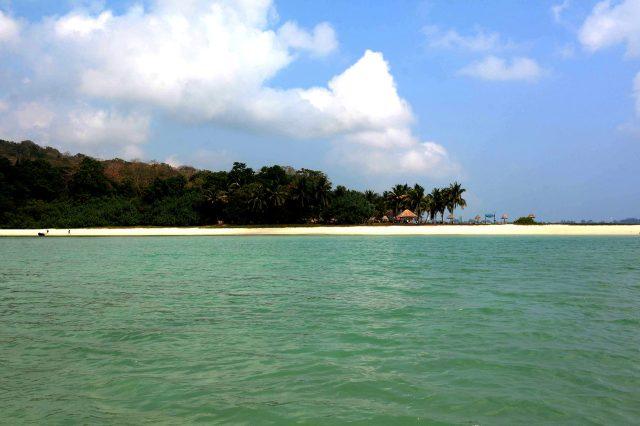 Ross Island Beach, Andaman