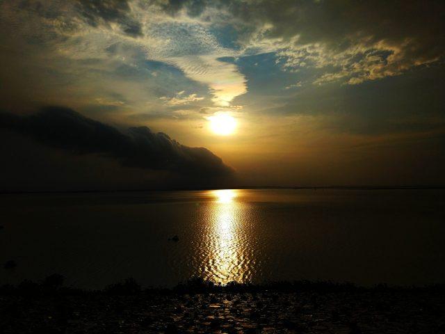 Sunset at Gose Khurd Dam