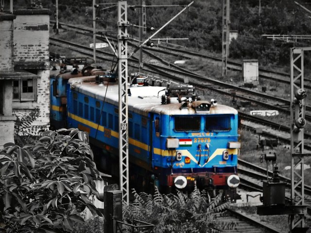 Twin WAG 7 locomotives