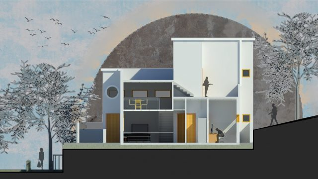 A house made of graphics