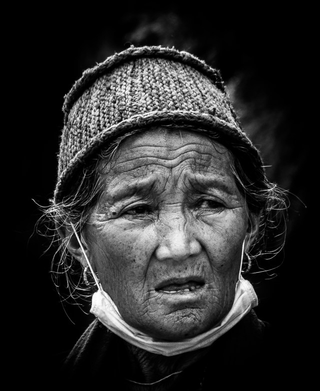 Portrait of a Old Woman