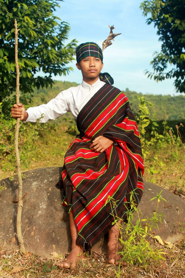 A chief of tribal people